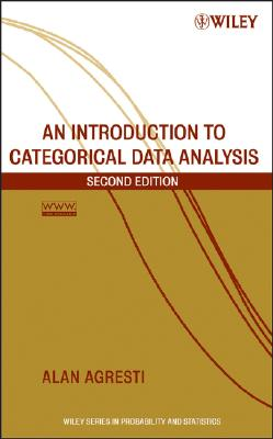 An Introduction to Categorical Data Analysis By Agresti, Alan